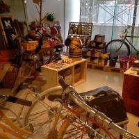 オシャレ自転車ショップ。自転車が流行ってます。